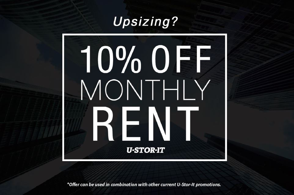 u-stor-it offer for 10% off