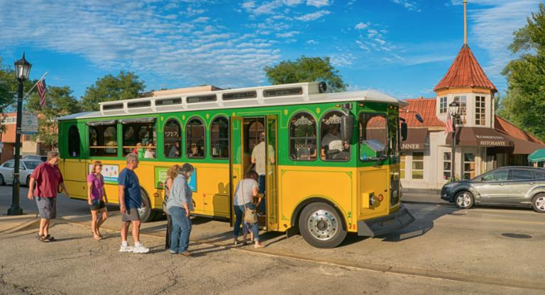 Explore Elmhurst Trolley